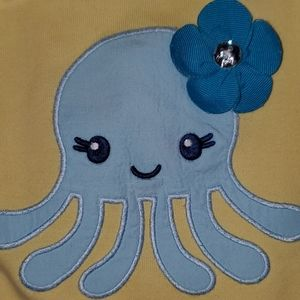 Cute Gymboree Octopus 5T set